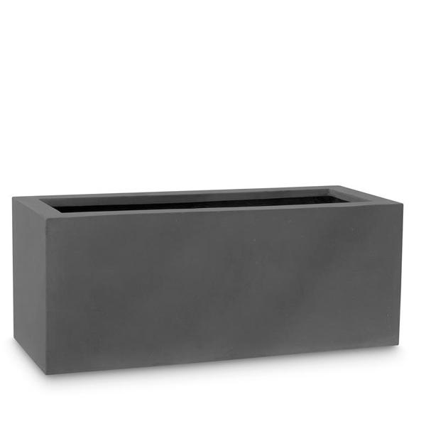 Сандъче Level, подсилена пластмаса с фибростъкло, черно