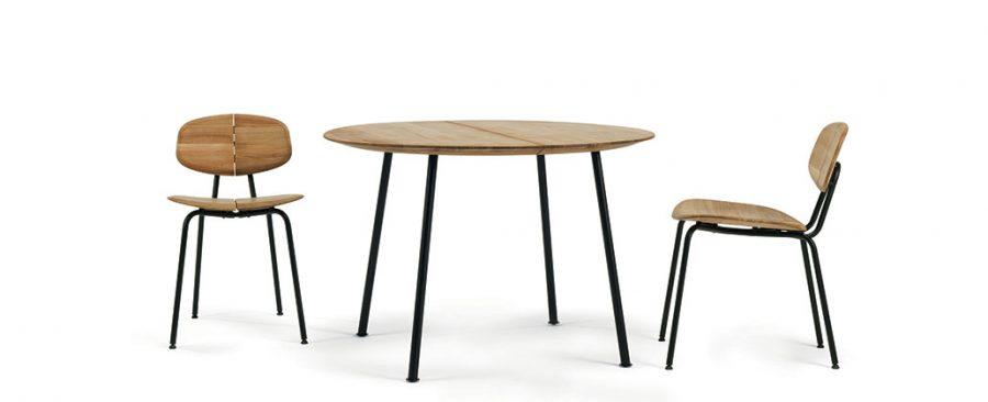 Градински стол и маса Agave, тиково дърво