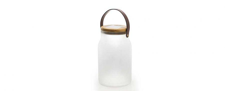 Градинска соларна лампа Milk