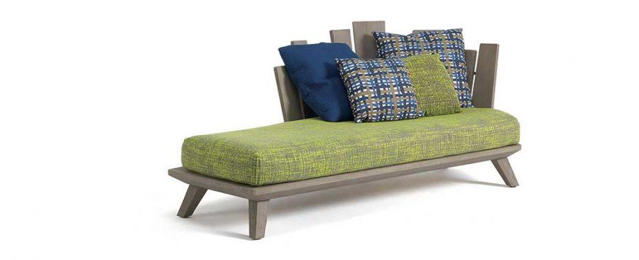 Градинска лежанка Rafael, дизайнерски градински мебели от navun.bg