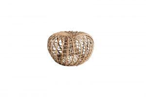 Градинска малка табуретка Nest, натурал