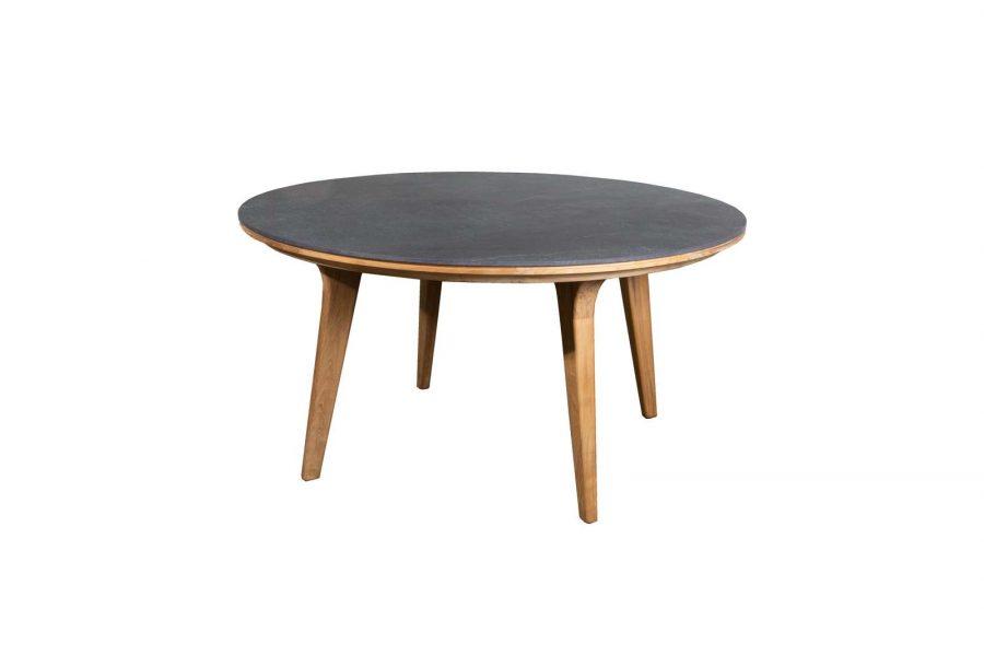 Градинска маса Aspect, кръгла керамичен плот