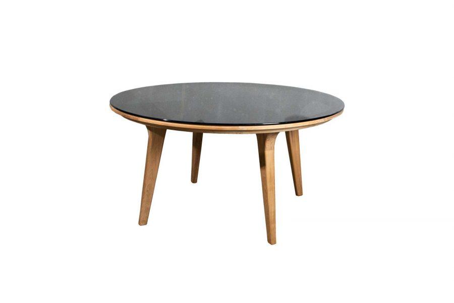 Градинска маса Aspect, кръгла стъкло