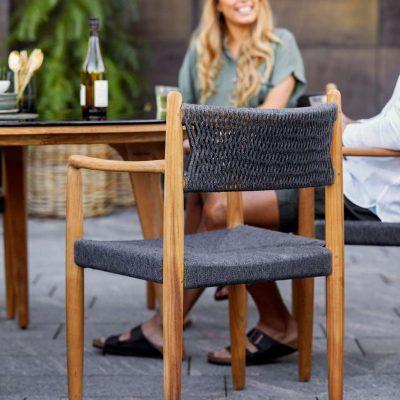 Градински стол Royal, тиково дърво