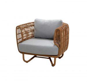 Градинско кресло Nest натурал