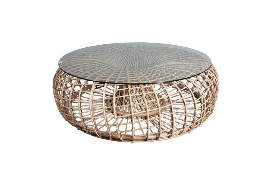 Градиснка маса за кафе Nest, натурален цвят