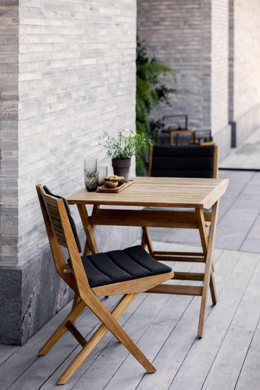 Сгъваем градински стол Flip