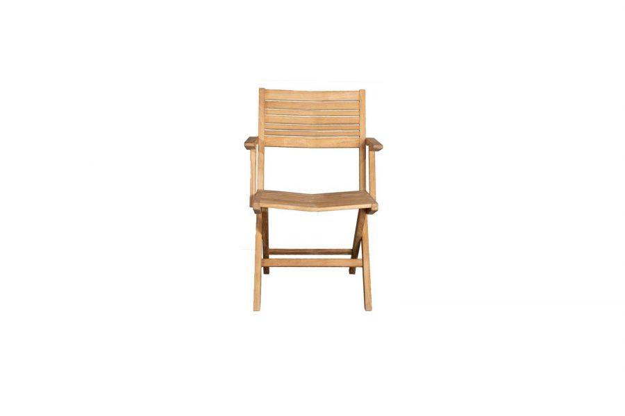 Сгъваем градински стол Flip, с подлакътници