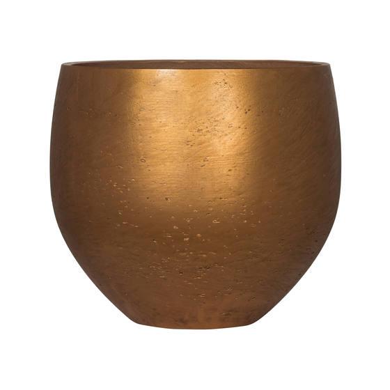 Кашпа ORB, цимент и камък, мед