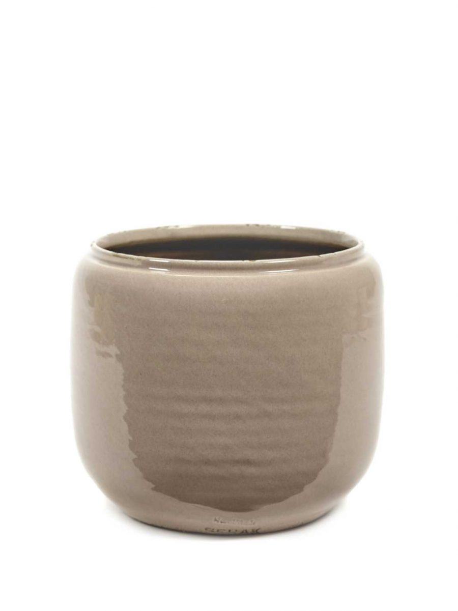 Винтидж керамична кашпа саксия Costa