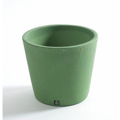 Кашпа Stone, зелена