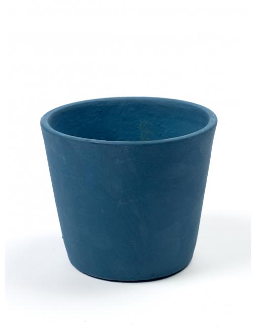 Кашпа Stone, синя