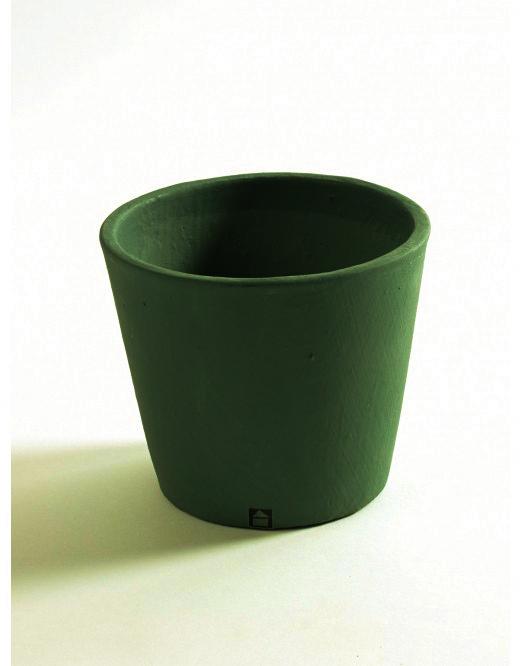 Кашпа Stone, тропическо зелено