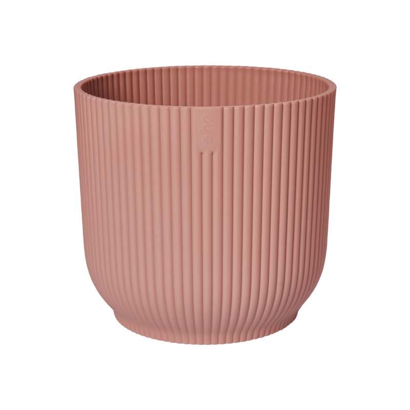 Пластмасова кашпа Vibe, розова